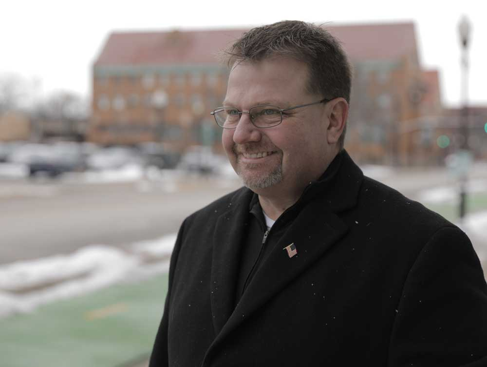 Ron Woerman, family man, business owner and Candidate for Alderman in Aurora